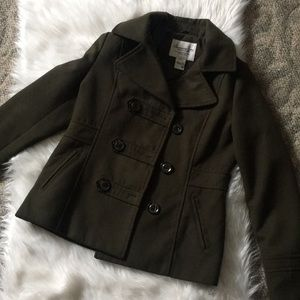 American Rag olive green trench